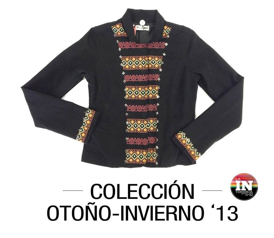Saco inspiracion andina!!