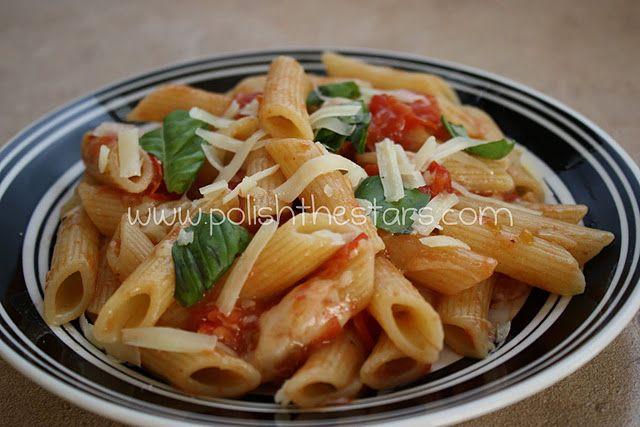 Cherry Tomato Sauce with Pasta