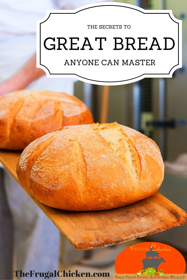 Making great bread is as simple as having an easy recipe and knowing a few secrets. In this article, I show you step-by-step how to win at homemade bread making. From FrugalChicken