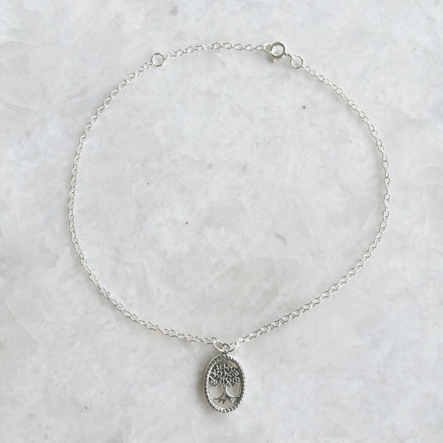 goods ankle sterling silver anklet br discovered feather