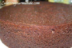 Chocolate mud cake & buttermilk (lait fermenté ) | La Lettre Gourmande