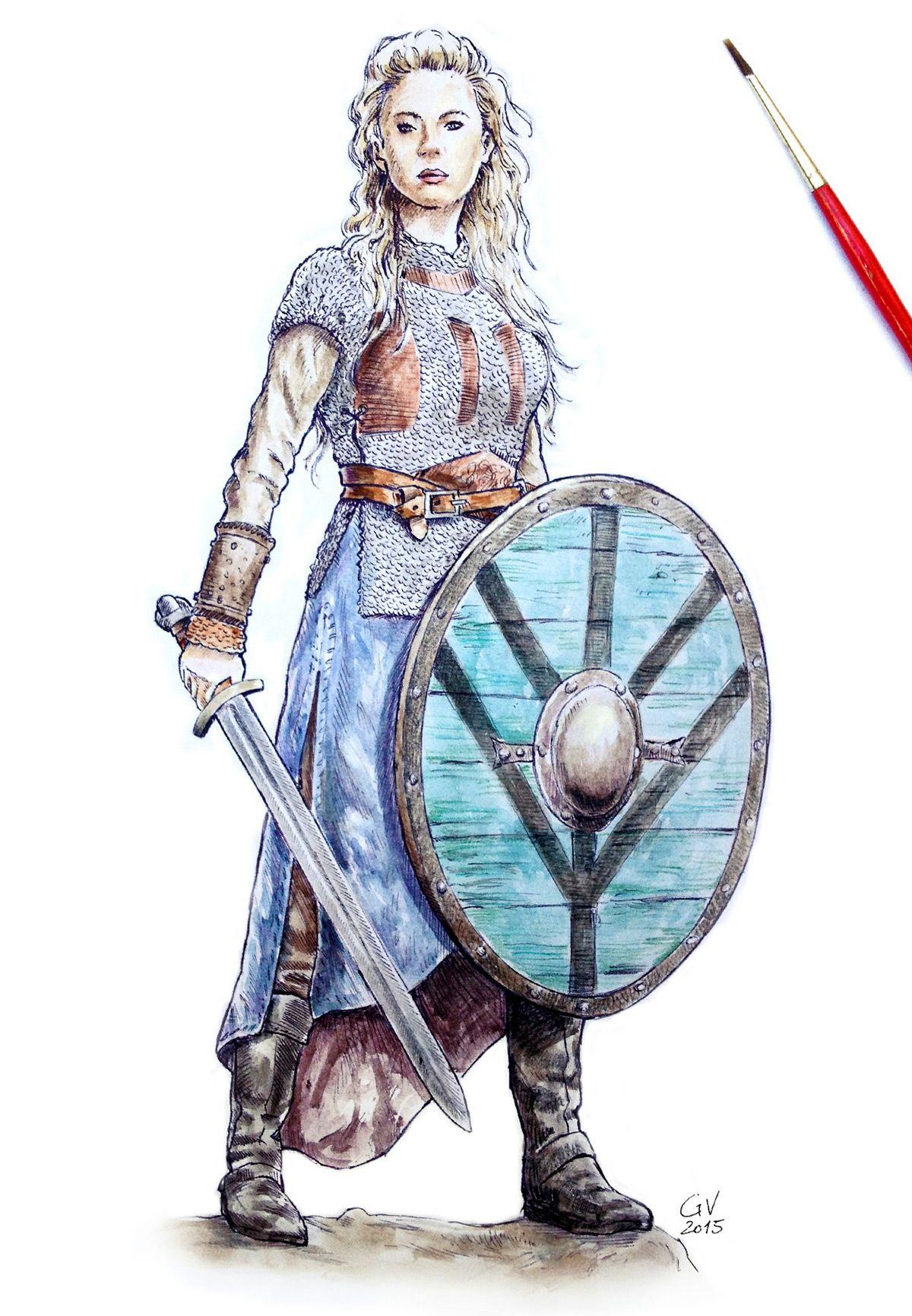Vikings fanart Vikings, Warrior woman, Fan art