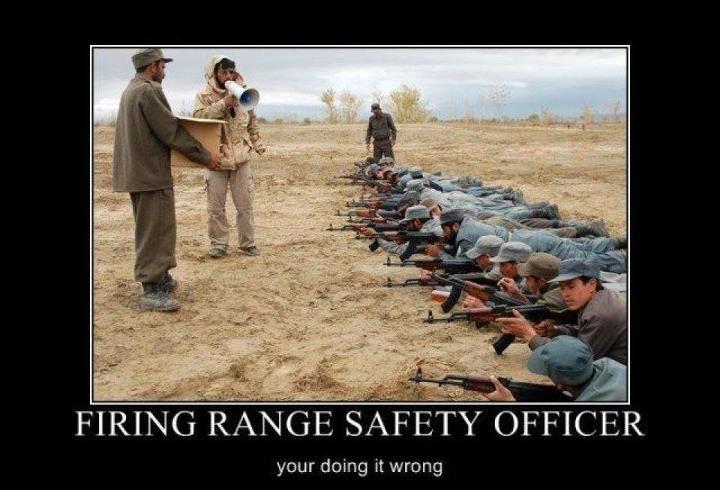 Firing range military humor firing range safety