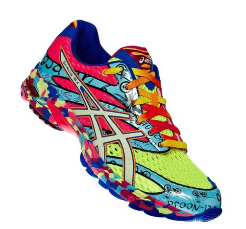 Asics are my fav running shoes.I'm going Asics Noosa Tri for my next pair.