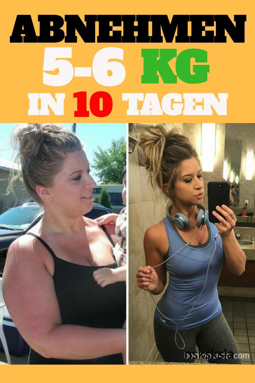 Gewichtsverlust 5 kg in 10 Tagen