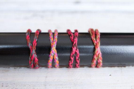 Double Wrap Friendship Bracelets  Made to Order by CleverGirlies, $3.00