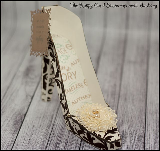 Happy Card Factory Dream Create Inspire Paper Shoes Happy Cards Card Factory