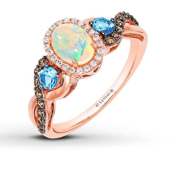 Le Vian Heart Necklace 5/8 ct tw Diamonds 14K Strawberry