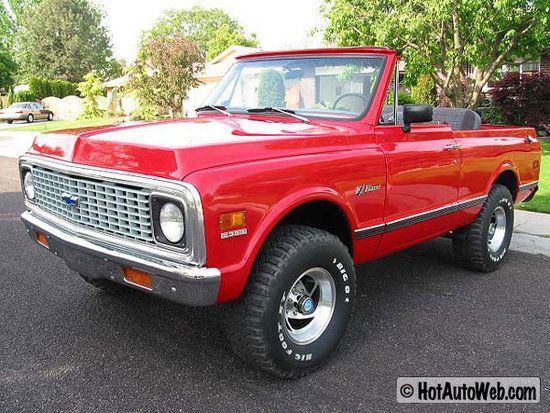 1972 Chevrolet K5 Blazer Had One For A Hot Min My Dream