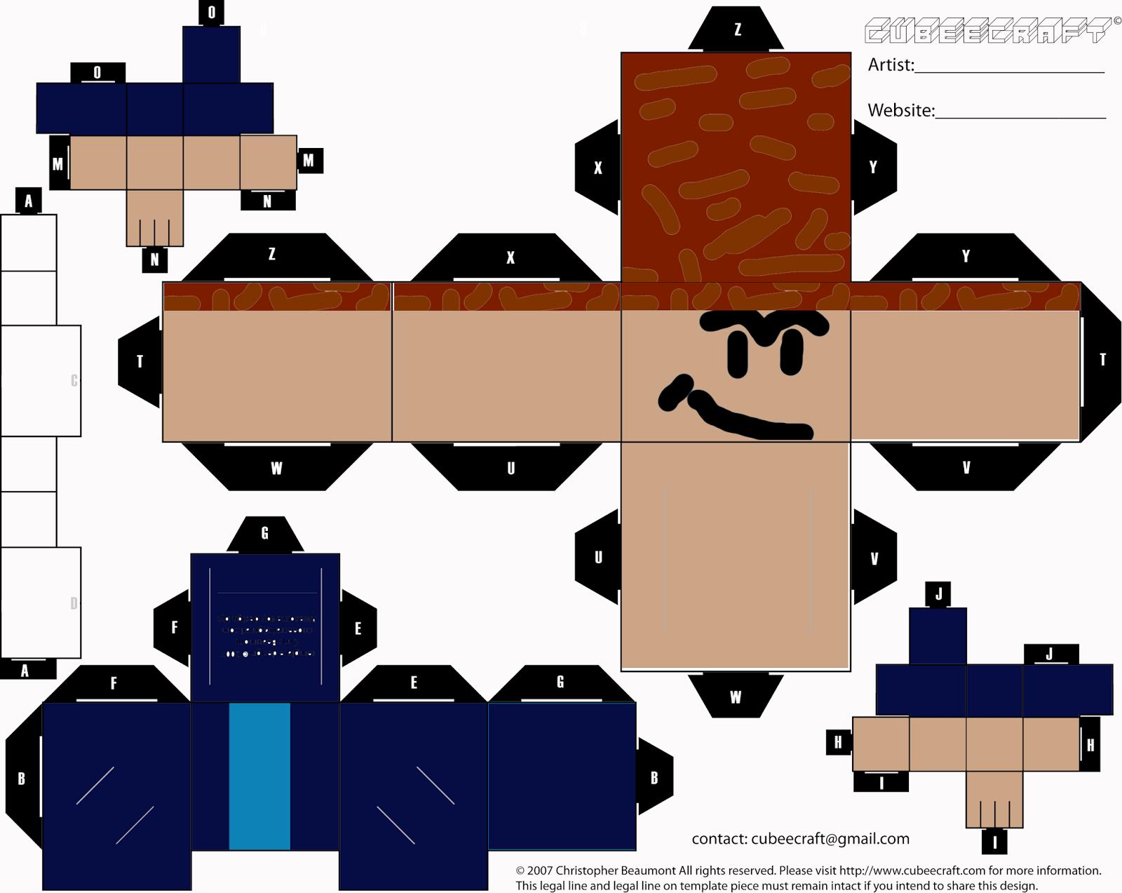 Http Papercraft4 Blogspot Com 2017 07 Papercraft Roblox Html