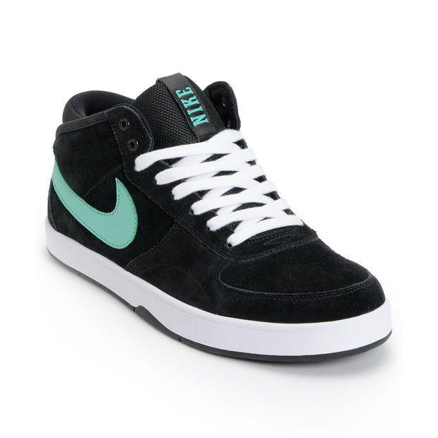 Nike SB Men's Shoes MAVRIK MID 3 - Skater shoes - black
