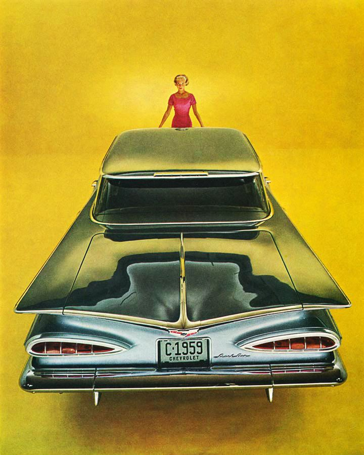 1959 Chevrolet Impala | Old Classic Cars 30\'s to 80\'s | Pinterest ...
