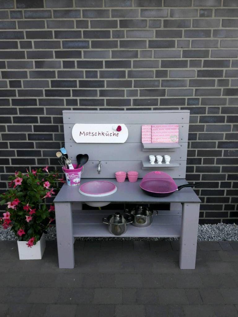 Kinderkuche Matschkuche Selbstgebaut Farbe Wahlbar In Niedersachsen Neuenhaus Spielzeug Fur Draussen Guns Spielzeug Draussen Gartenideen Kinder Selber Bauen
