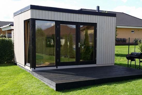 Palmako Nordic Gartenhaus Solveig 13,6 m² ELG184533