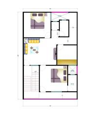 30 X 40 East Facing House Plan 20 x 22 house plan | House ...