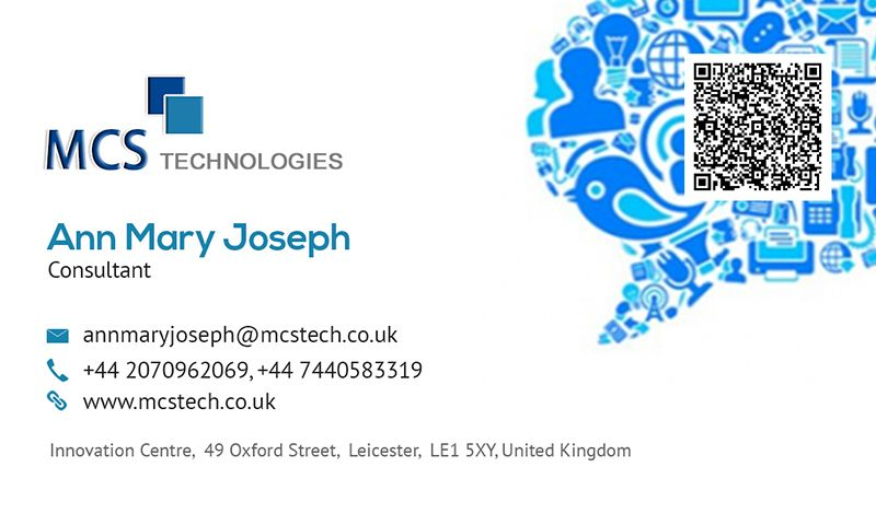 Business card design for ann mcs technologies ltd leicester uk business card design for ann mcs technologies ltd leicester uk abudhabi uae new york usa reheart Images