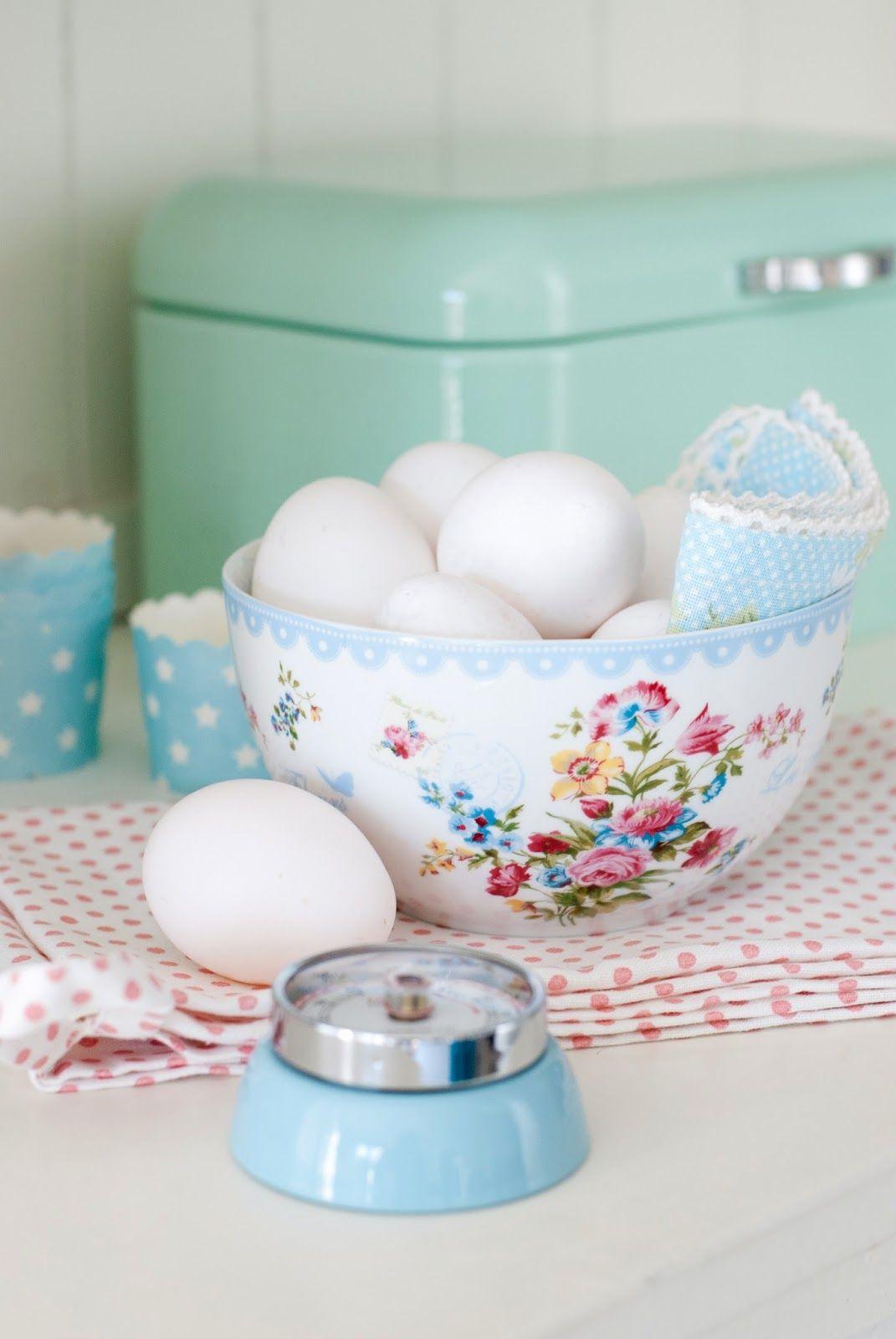 Minty House Blog : Szafirki, pastele i kuchenne graty