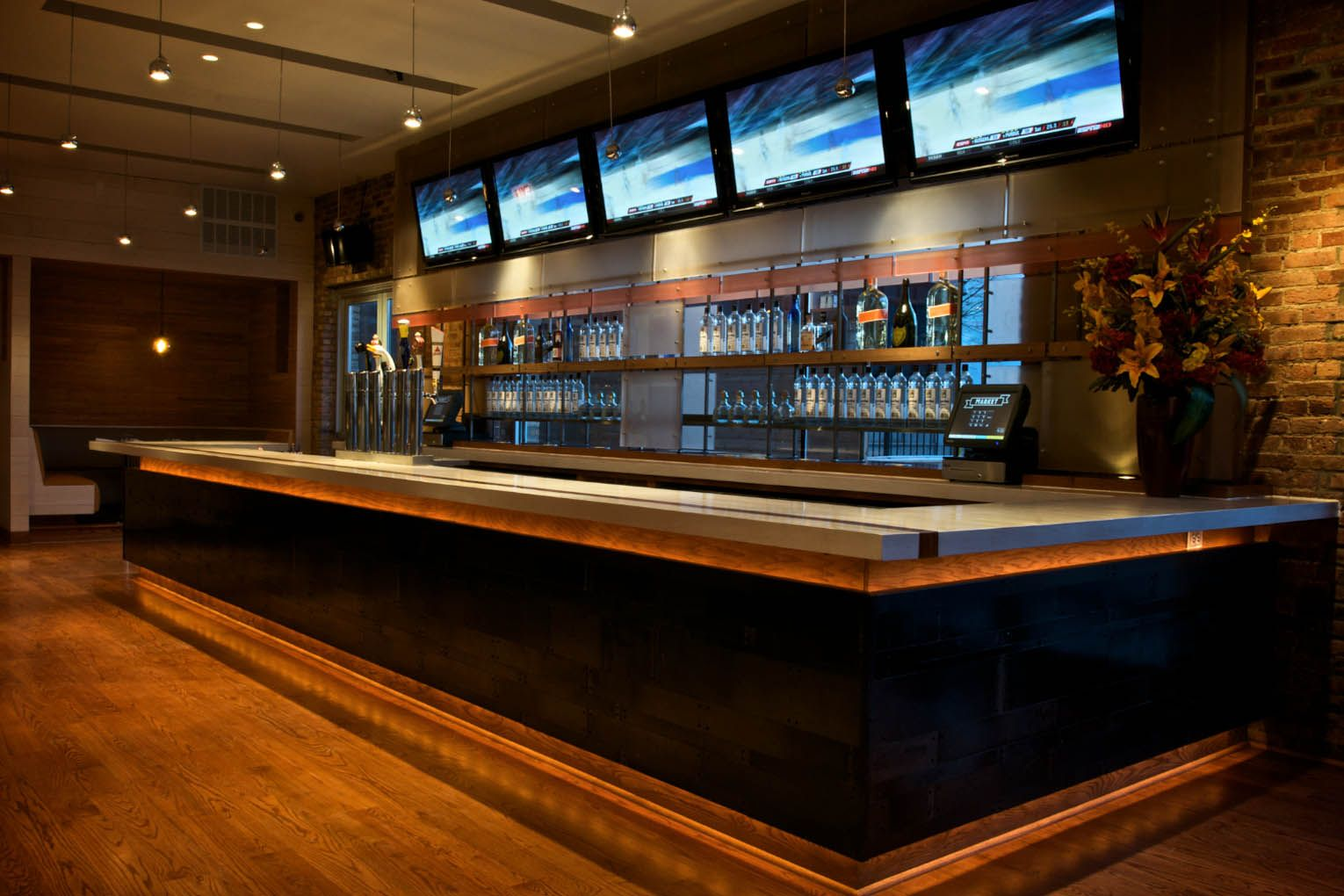 Restaurant Bar Designs Layouts | Off The Heels Of A Season Opening Win  Against The K C