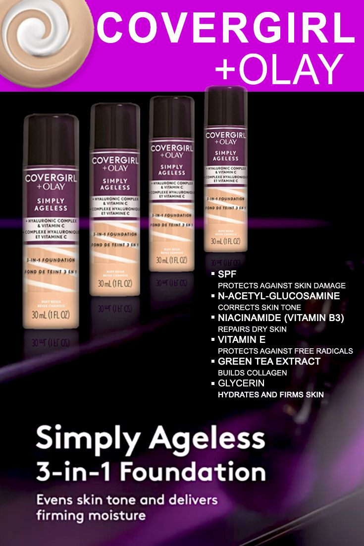 Covergirl + Olay Simply Ageless 3in1 Liquid Foundation