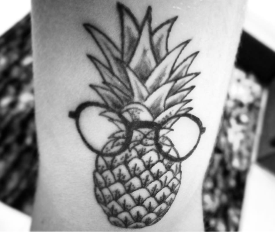 Pineapple Tattoos and the Surprising History Behind Them. - Tattoo Insider #pinappletattoo