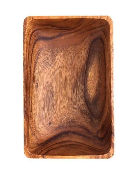 Acacia Wood Rectangular Bowl - $40, The Little Market