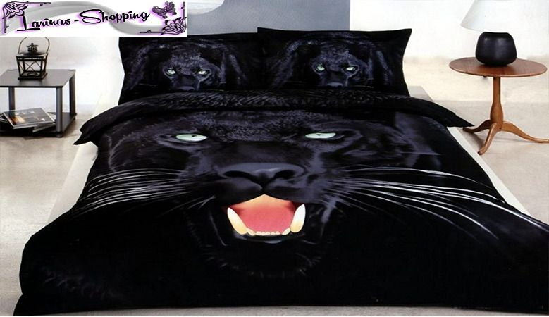 3d Bettwasche 5 Teilig Garnitur Bettbezuge Puma Original