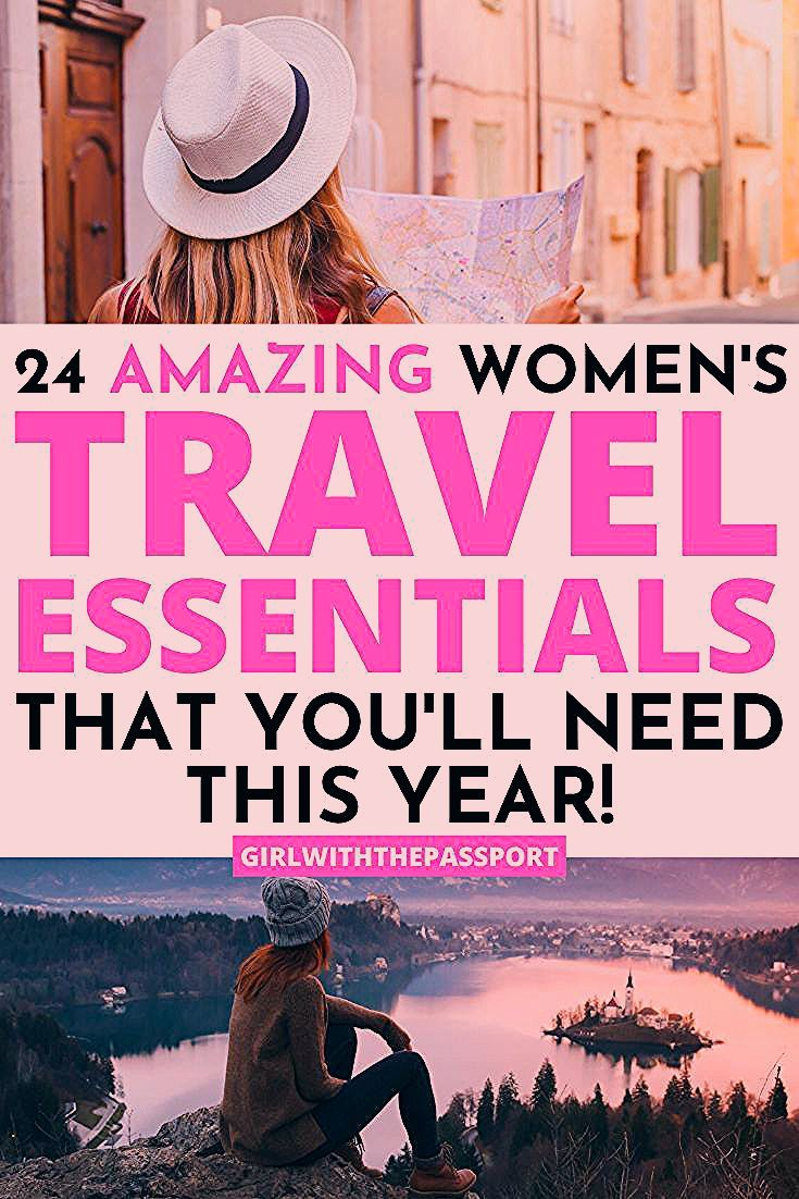 Photo of 24 Amazing, Women's Travel Essentials that you need THIS YEAR!