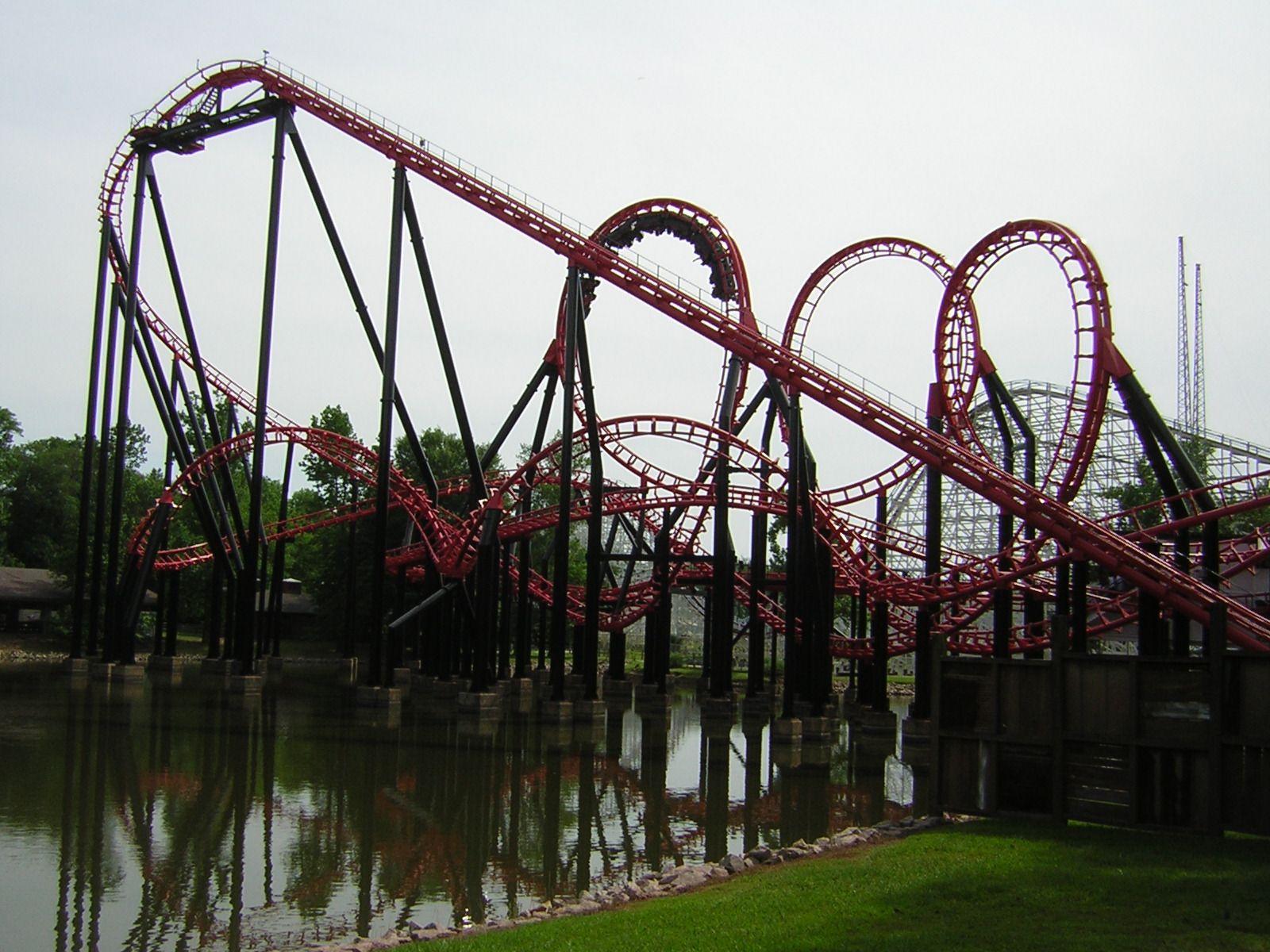 Ninja Ride Six Flags Over Georgia Atlanta Attractions Roller Coaster Six Flags