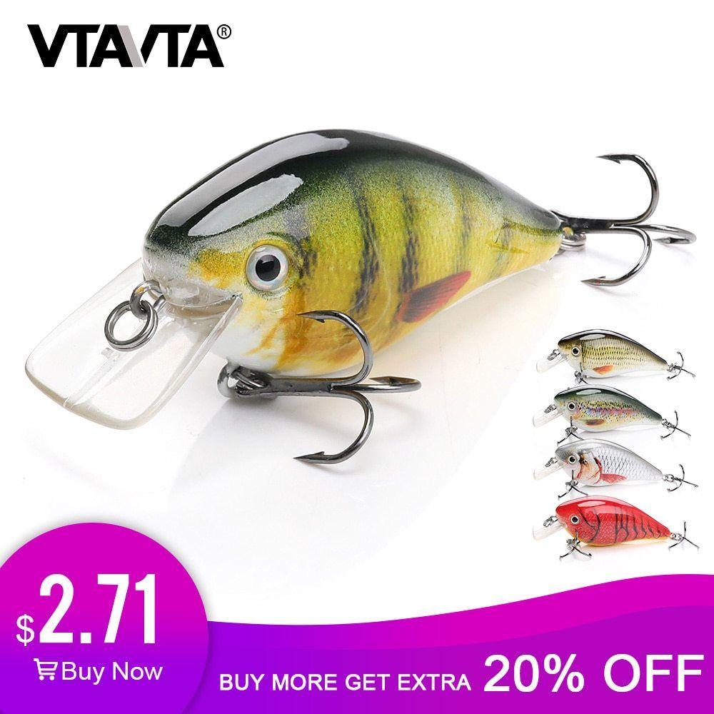 Fishing Lure Bait Bass Crank Minnow Swimbaits Life Like Bass Crankbaits 10g