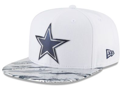 Dallas Cowboys New Era 2016 NFL On Field Color Rush 9FIFTY Snapback ... 10dbb6e415b