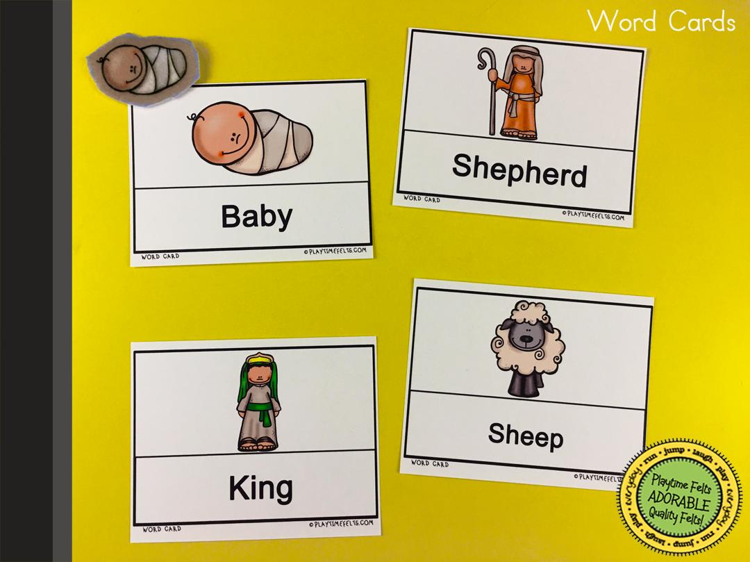 Birth Of Jesus Pre K Worksheets For Sunday School
