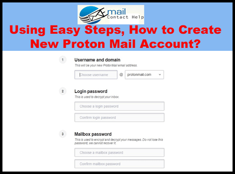 1 833 410 5666 Using Easy Steps How To Create New Proton Mail