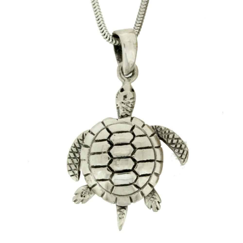 Sterling silver sea turtle pendant with moving head legs charm sterling silver sea turtle pendant with moving head legs charm jewelry aloadofball Image collections