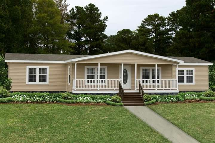 Pin By Lorraine S On Real Estate Manufactured Home Porch Mobile Home Exteriors Mobile Home Porch