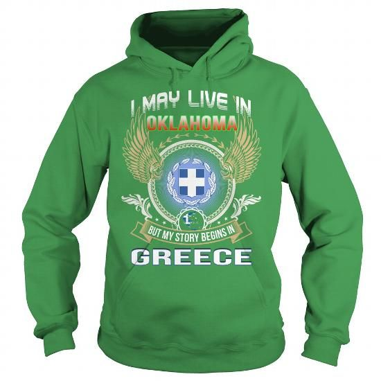 Greece Oklahoma T-shirt Oklahoma-Greece limited edition custom product created by Landtees. ✓Secured payment system ✓Free Returns ✓High Quality from USA ✓Fast Shipping World Wide - Click now!