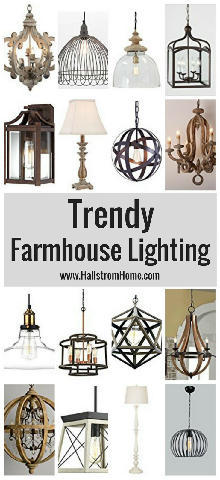 The Best Farmhouse Lighting On Amazon Hallstrom Home Farmhouse