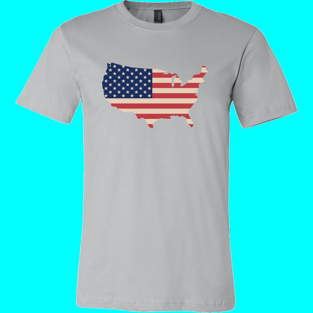 Tshirt - USA Map