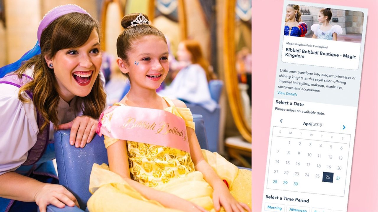 Online Reservations Now Available For Magical Experiences At Walt