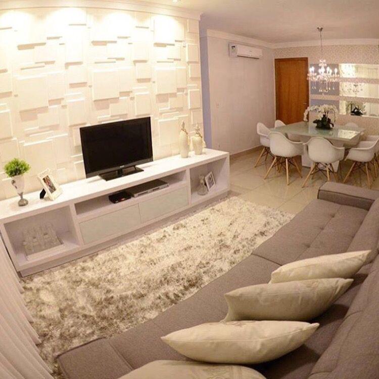 Aconchegante!! Sala de estar Pinterest Sala de estar, Unidades - Decoracion De Interiores Salas