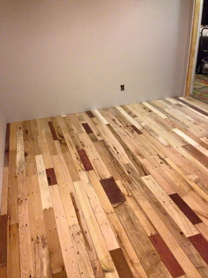 Interior Flooring Done With Pallets Future 3 Pinterest Pallet