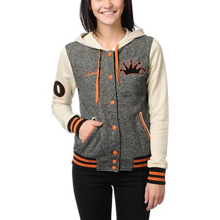 An Update to the Varsity Jacket (Pictured: #Stussy Girls Letterman Jacket)
