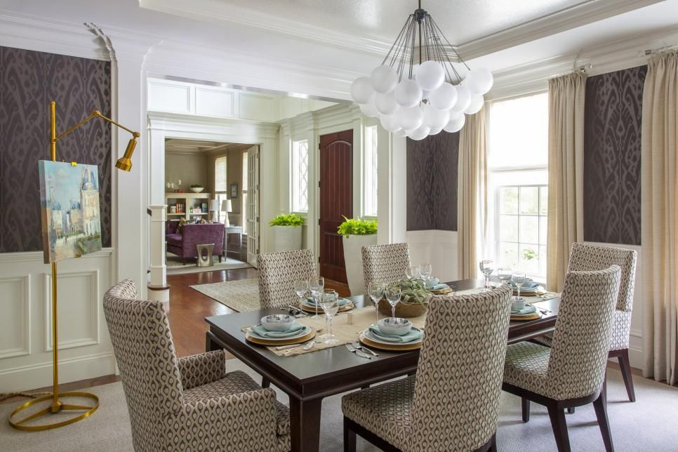 A spacious family home is full of