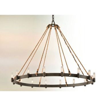 Pike Place Round Chandelier By Troy Lighting F3125 In 2020 Chandelier Chandelier Ceiling Lights Troy Lighting