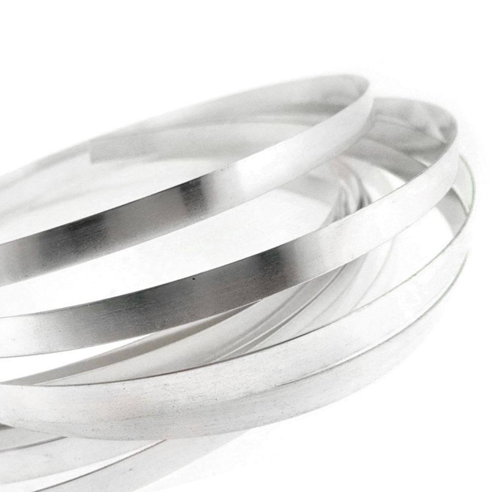 Plain Bezel .999 Fine Silver, 1/4\