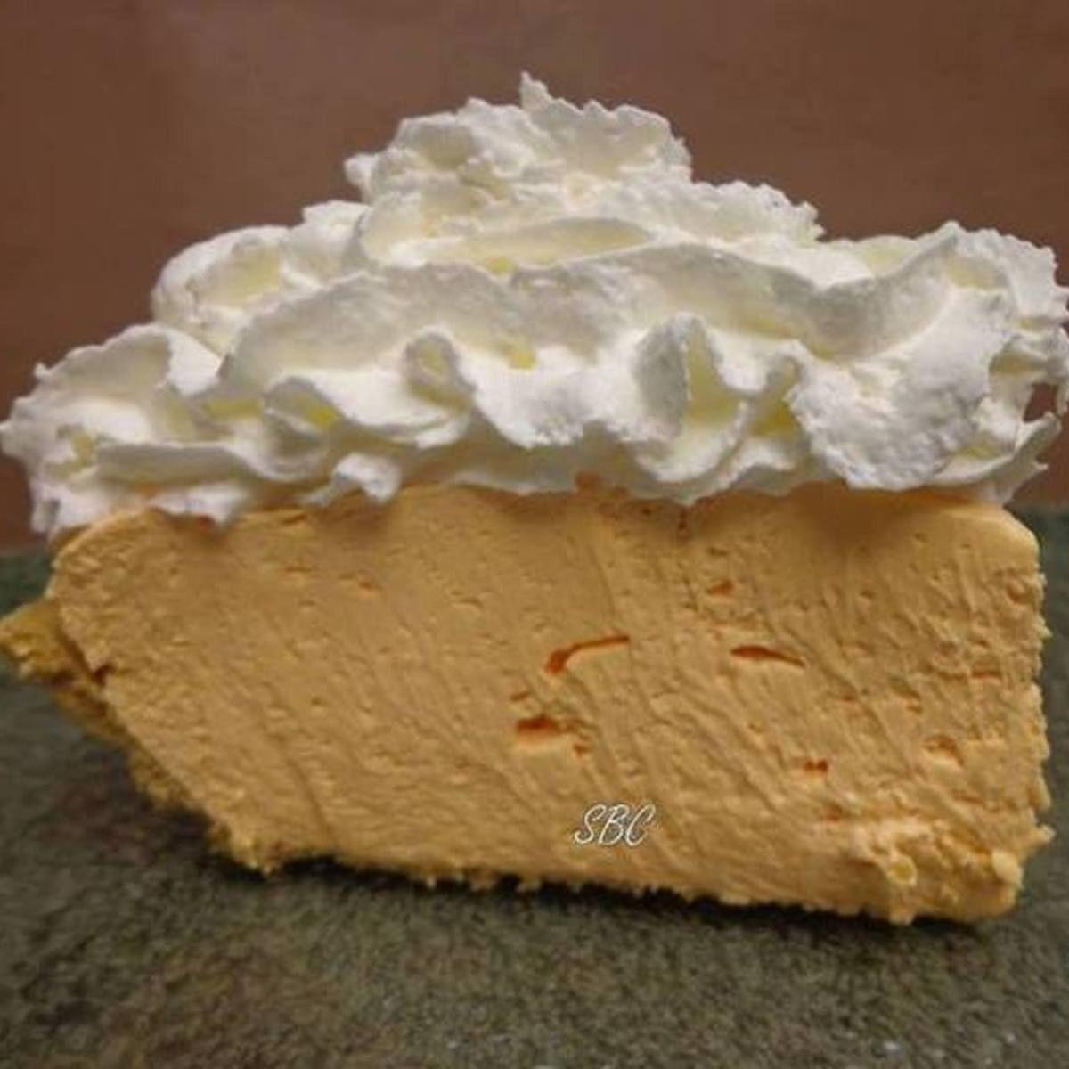 Orange Kool Ade No Bake Cheesecak Recipe Baking Desserts No Bake Cheesecake