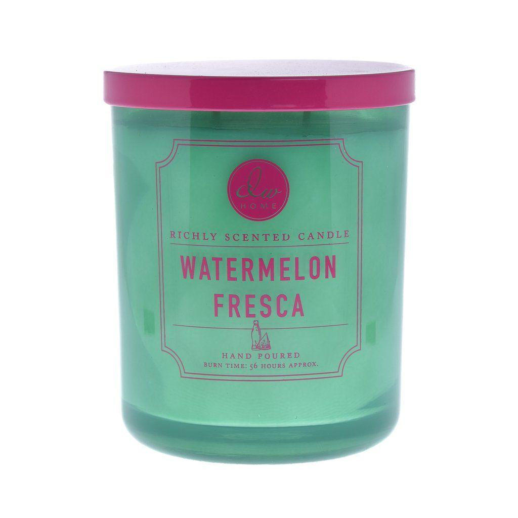 Watermelon Fresca Dw Home Scented Candles Dw7205 Dw7210 Dw7215