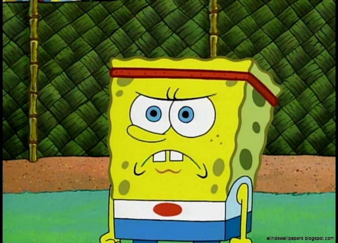 Angry Spongebob Face Wallpaper All HD Wallpapers