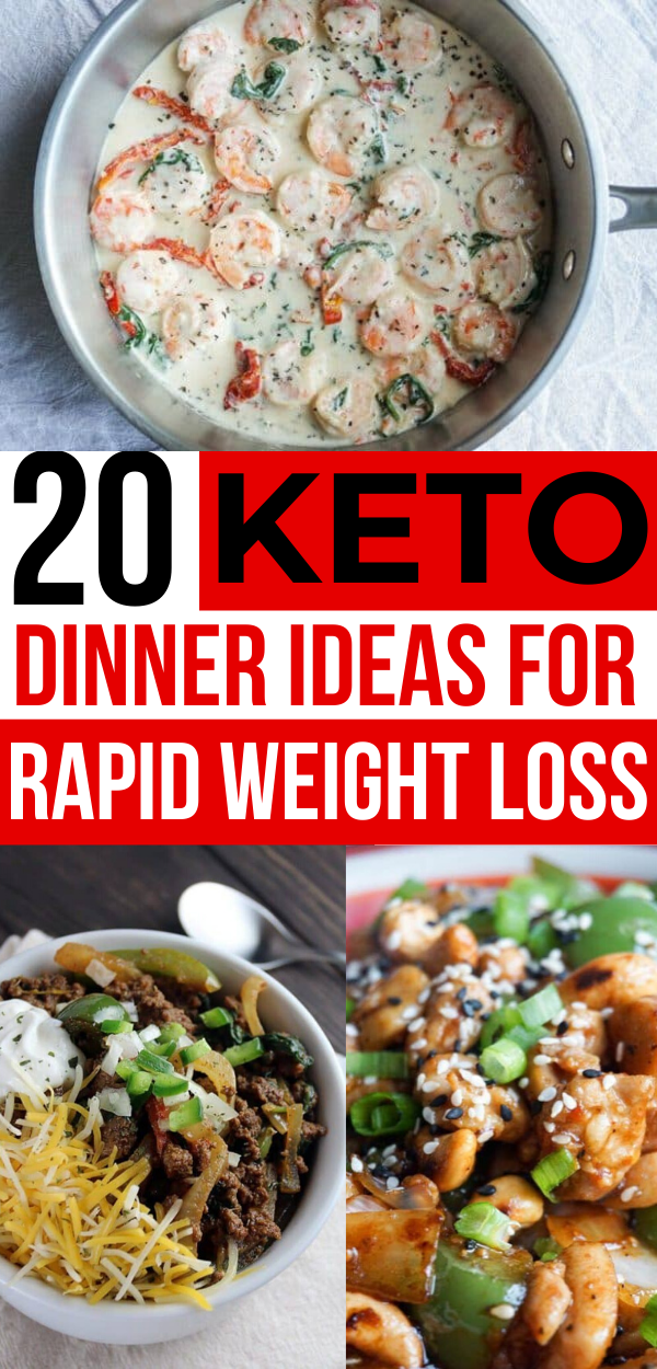 20 Low Carb Dinners - Quick & Easy (Keto) - Savvy Honey