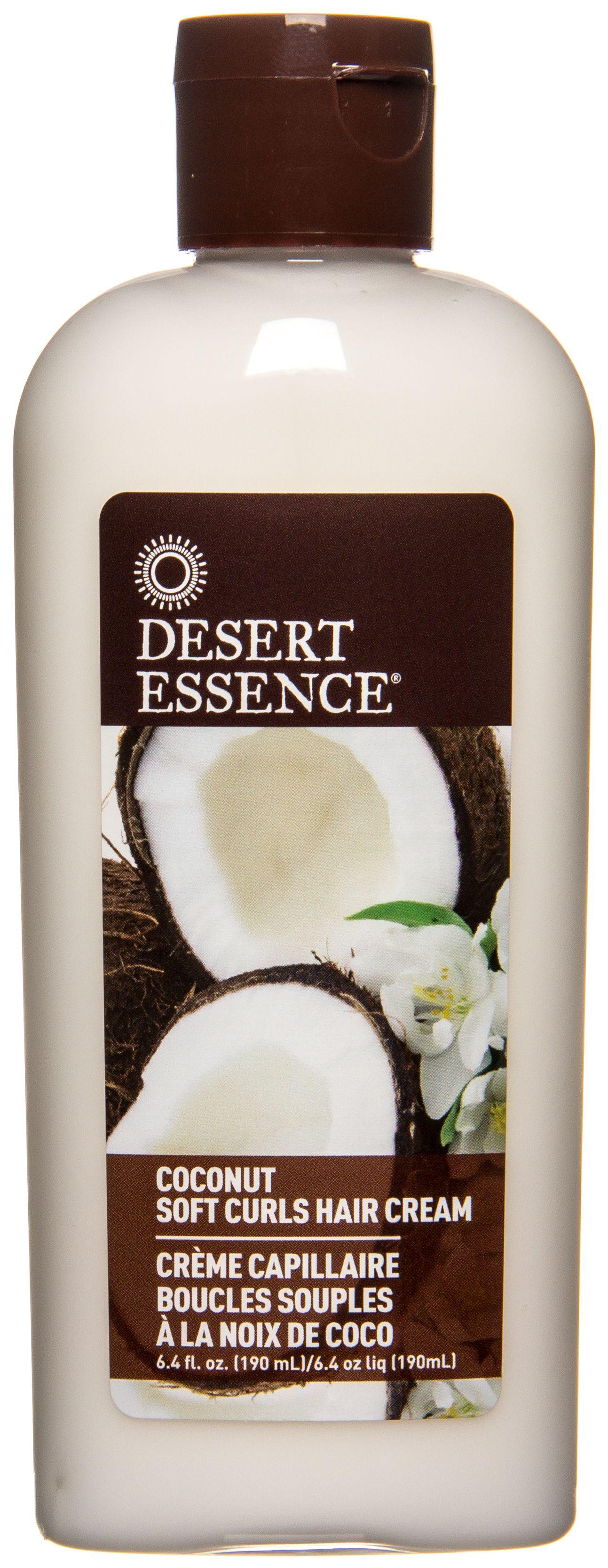 Desert Essence Coconut Soft Curls Hair Cream, 6.4 oz #softcurls