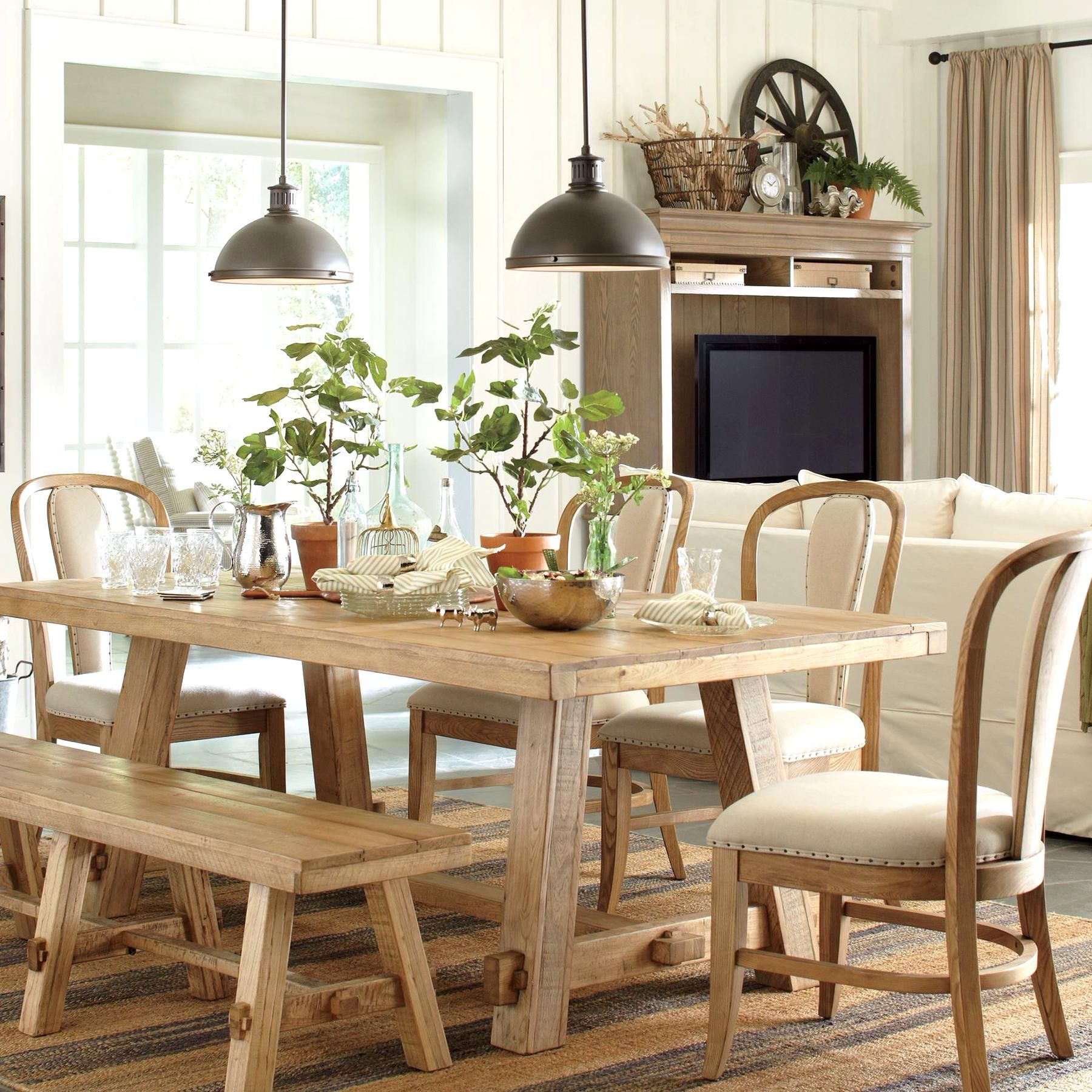 Orleans Pendant in 9  Dining table, Dining table in kitchen